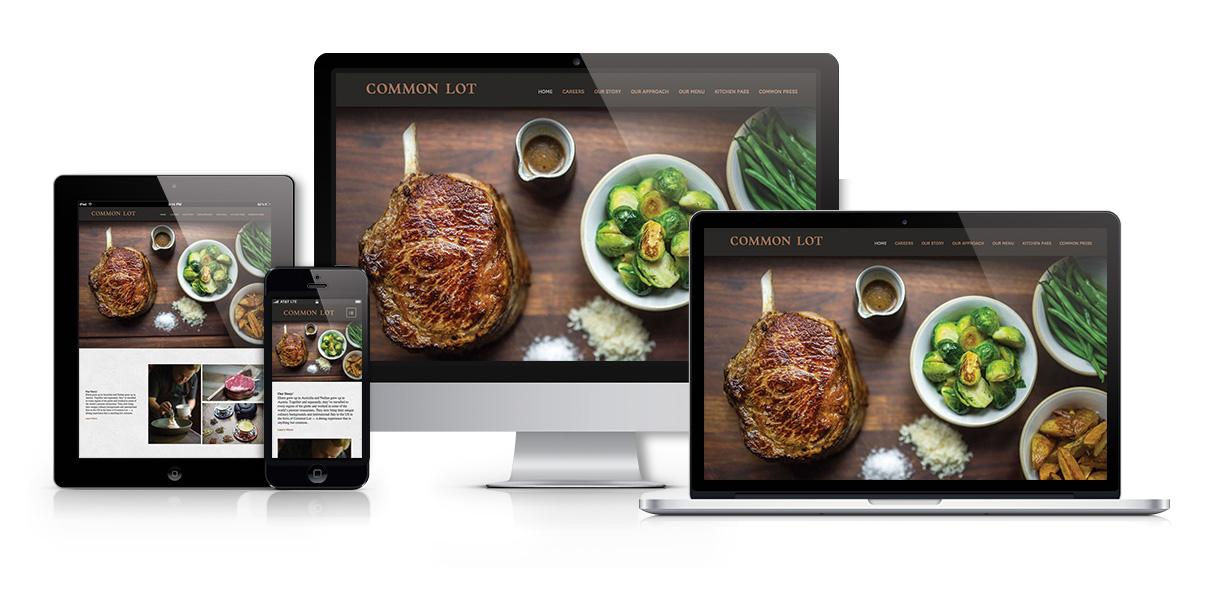 common-lot-restaurant-responsive-website-design